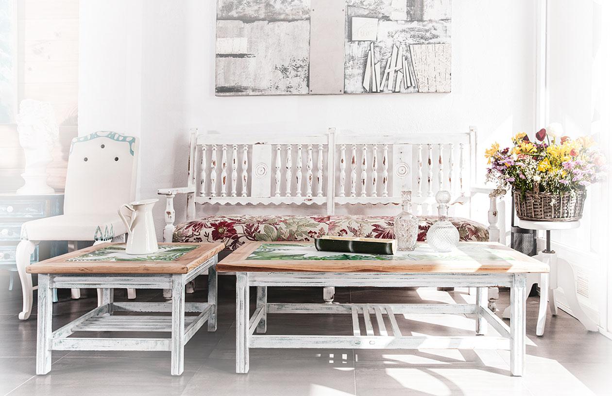 muebles restaurados artisticos