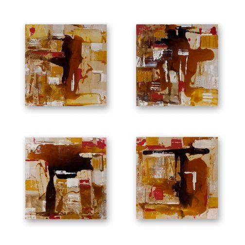 composición para cuatro