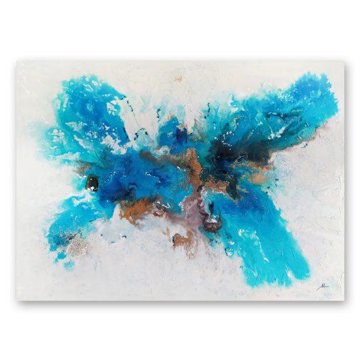 Cuadro abstracto Fondo del mar