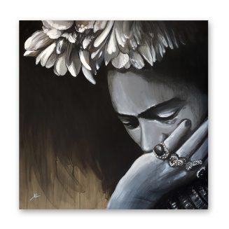 Cuadro Retrato a Frida Kahlo